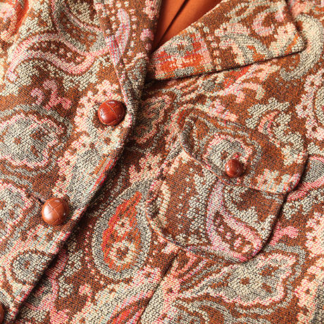 Tapestry Pattern Jacket