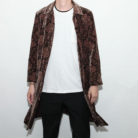 Embroidery Long Jacket