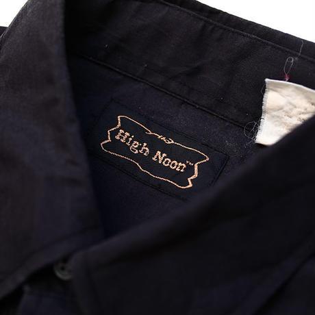 パイピングウエスタンシャツ Black Western L/S Shirt