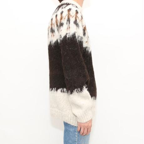 Nordic Pattern Knit Sweater