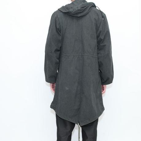 Garment Dye Black M-51 Fishtail Parka