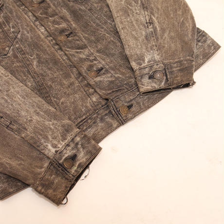 Levis 70507 Black Stone Wash Denim Jacket