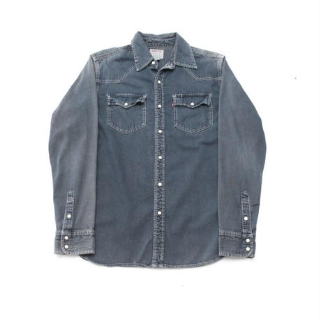 Levi's Black Denim Western Shirt