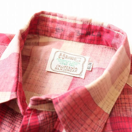 H Bar C  Western Shirt