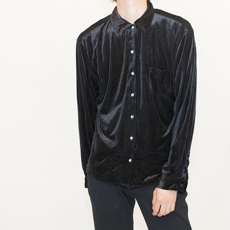 Black Velour L/S Shirt