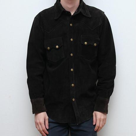 スウェード スナップジャケット Vintage Suede Jacket