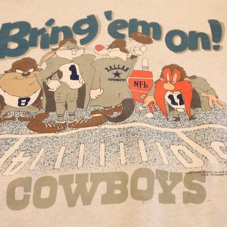 90's Looney Tunes Dallas Cowboys Sweat Shirt