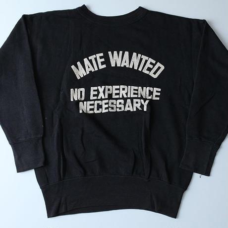 ビンテージ  ブラックスウェット Vintage Sweat Shirt