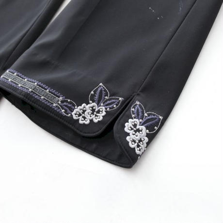 Embroidery Slacks