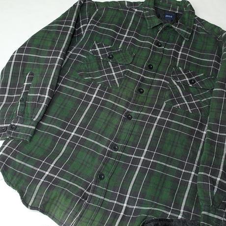 キルティングネルシャツ