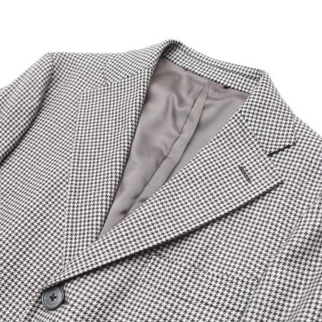 Hound's Tooth Wool Coat