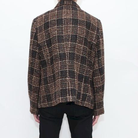 Checker Knit Jacket