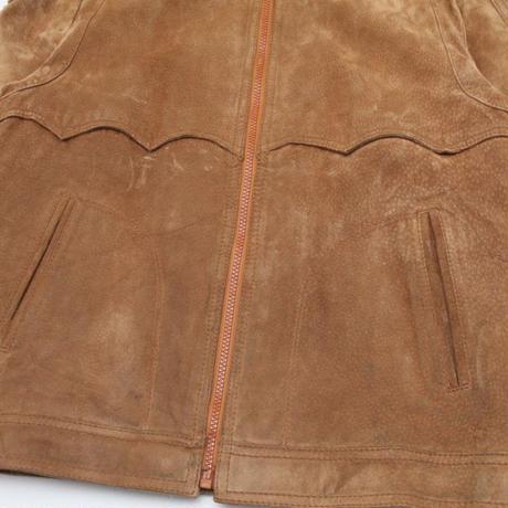 Vintage Suede Leather Jacket