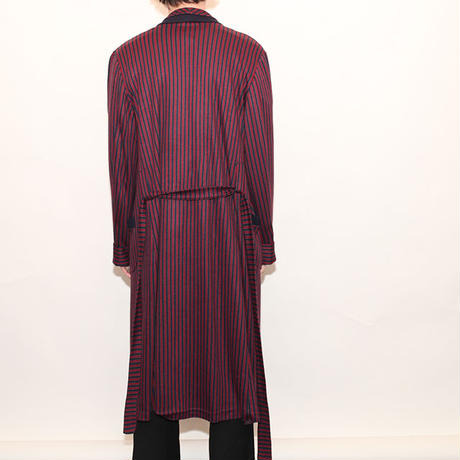 Stripes Gown Coat