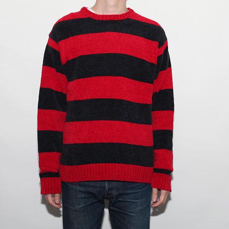 Border Crew Neck Sweater