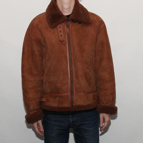 Vintage B-3 Mouton Leather Jacket