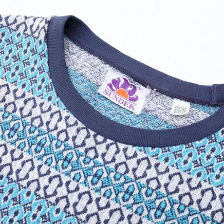 Jacquard Border T-Shirt
