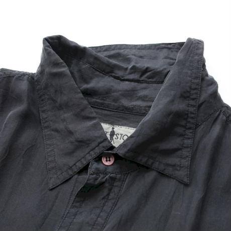 Black Silk S/S Shirt