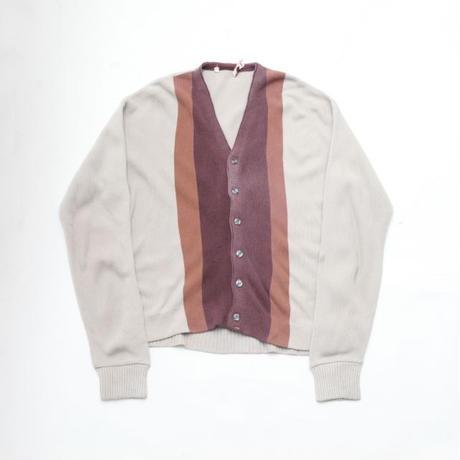 Vintage Acrylic Knit Cardigan