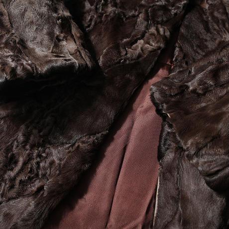 Vintage Lamb Fur  Coat