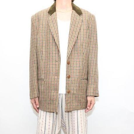 Vintage Gun Club Checker Tailored Jacket