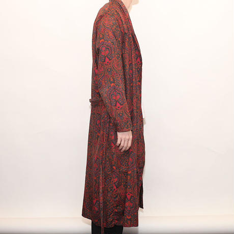 Cotton Paisrey Gown Coat