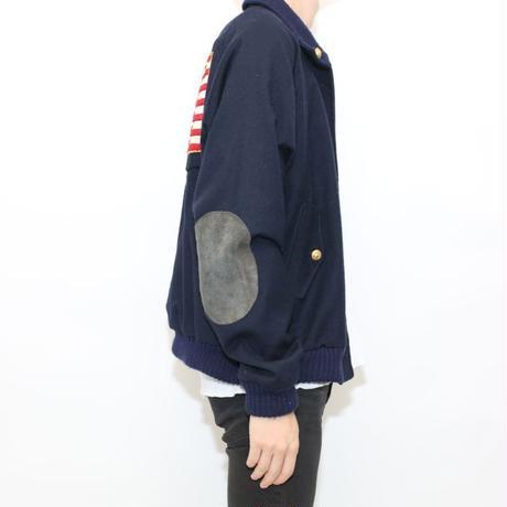 Vintage Patch Custom Wool Jacket