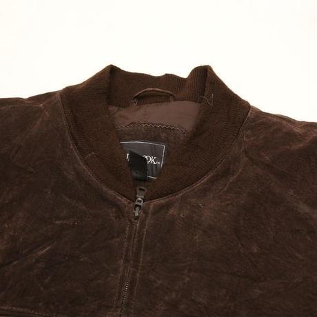 Vintage Derby Type  Leather Jacket