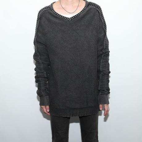 Black Indigo Knit Sweater