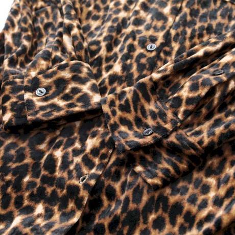Leopard Velour Shirt