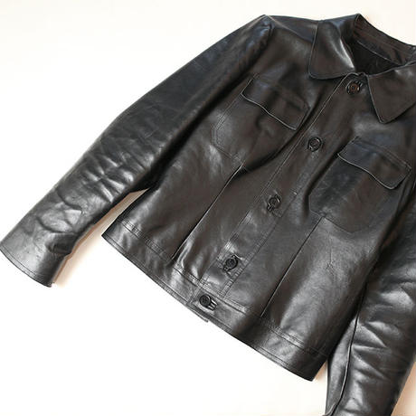 Leather Trucker Jacket