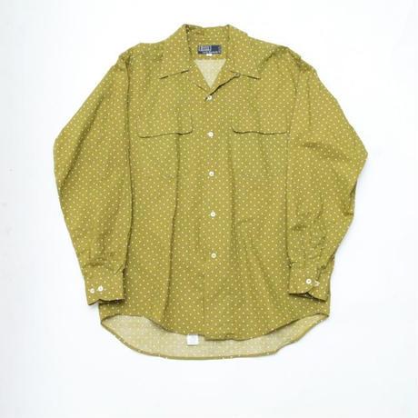 Dot Pattern Cotton L/S Shirt