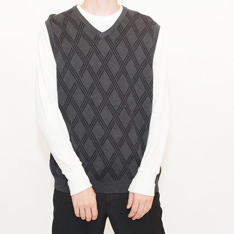 Old Pattern Knit Vest