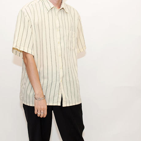 Stripe Pattern S/S Shirt