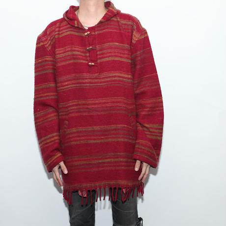 Vintage Knit Hoodie