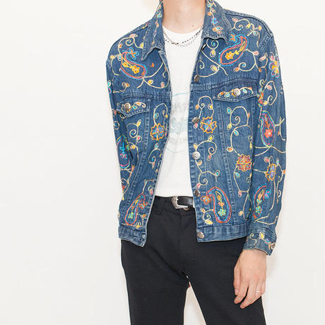 Embroidery Denim Jacket