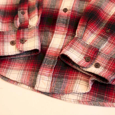 Ombre Check Flannel L/S Shirt