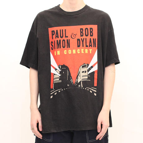 90's Paul Simon × Bob Dylan Tour T-Shirt