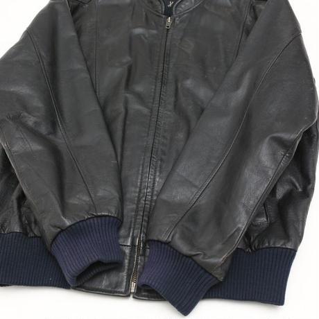 Vintage Single  Leather Jacket