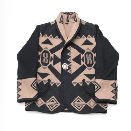 Native Pattern Smoking Jacket