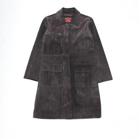 Eddie Bauer Suede Leather Coat