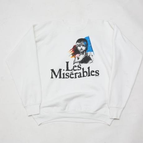 80's Le Miserable Sweat Shirt