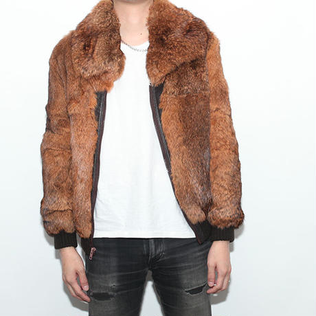 Rabit Fur Blouson