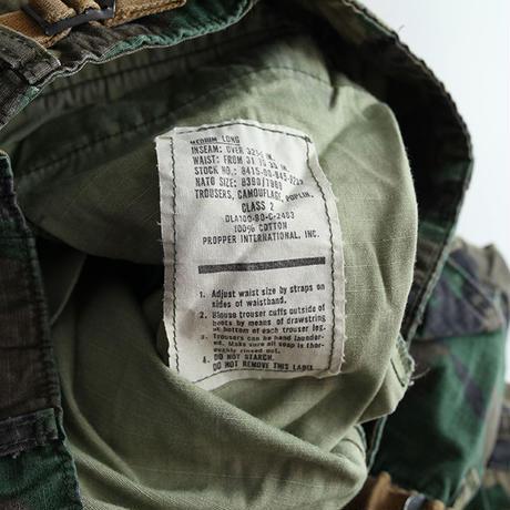 ミリタリー ファティーグパンツ リップストップ Military