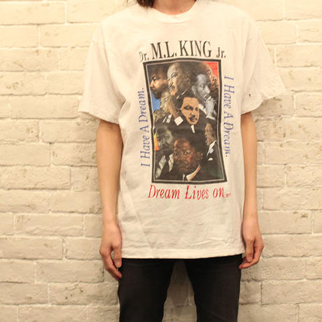 キング牧師Tシャツ Martin Luther King Jr T-Shirt