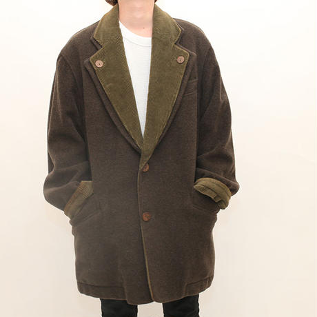 Vintage Wool Coat   MADE IN ITALY
