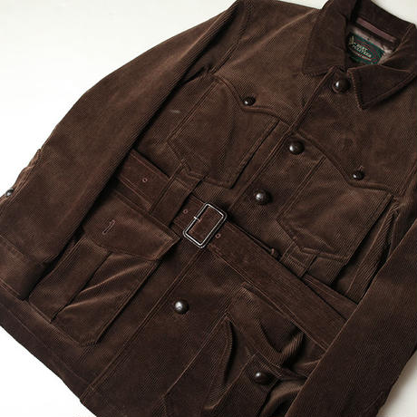 Corduroy Safari Jacket