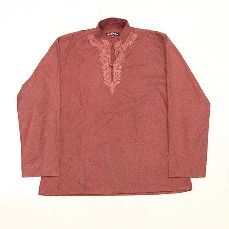 Embroidery Pullover L/S Shirt