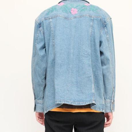 Denim Embroidery Jacket