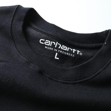 カーハート ポケット付きスウェット Carhartt Black